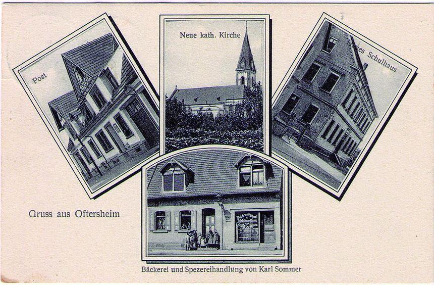 Diese Postkarte wurde vor 100 Jahren an Babette Sommer nach Heidelberg verschickt. Der Absender war ...