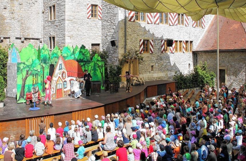 """Der Klassiker """"Räuber Hotzenplotz"""" stattet den Frankenfestspielen Röttingen wieder einen Besuch ab. ..."""
