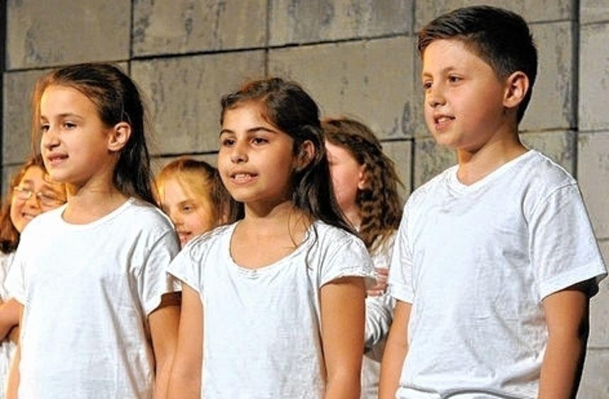 Die Theater-AG der Erich-Kästner-Schule beendete das Festival.