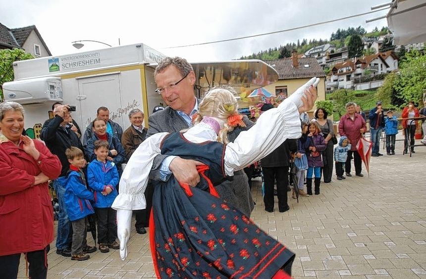 Die Stimmung bei der Altenbacher Kerwe war wieder sehr gut. Überaus schwungvoll präsentierten ...