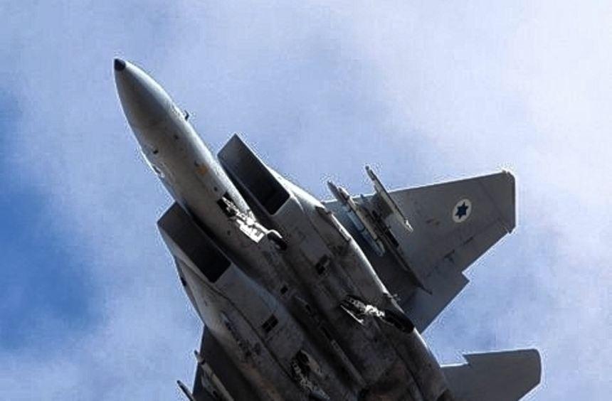 Israelische Kampfflugzeuge haben ein Ziel nahe Damaskus bombardiert.