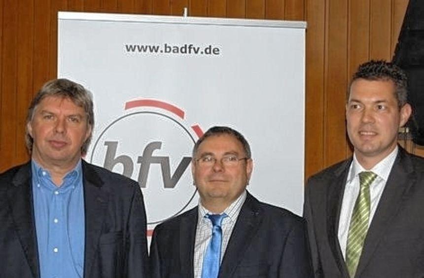 Ronny Zimmermann, Harald Schäfer und Ralph Kirchhoff (von links).