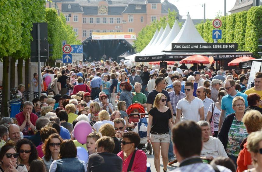 Gut 30 000 Besucher kamen zum Schwetzinger Spargelfest.