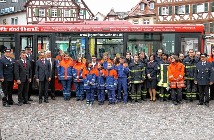 """Beim """"Jahr der Feuerwehr"""" informieren mehrere Veranstaltungen über die Tätigkeit der Wehren, mit ..."""
