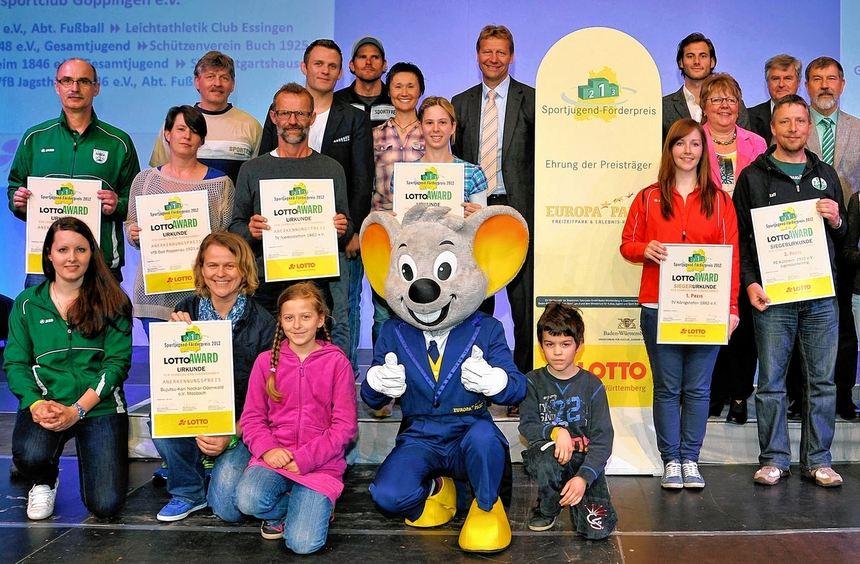 Unter den Gewinnern der Sportjugend-Förderpreise 2012 sind auch zahlreiche Vereine aus der Region.