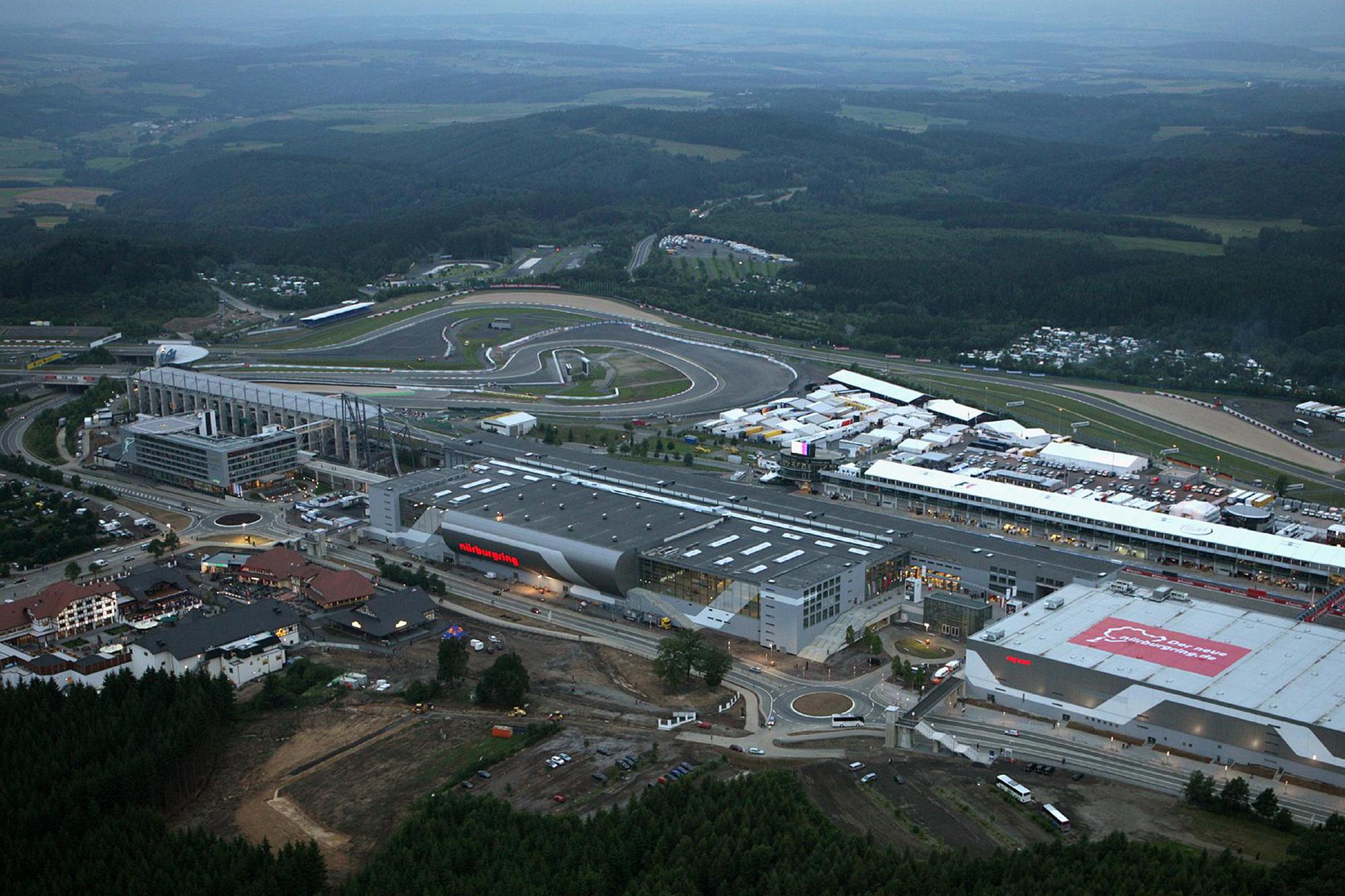 Umbau des Nürburgring-Parks 2009