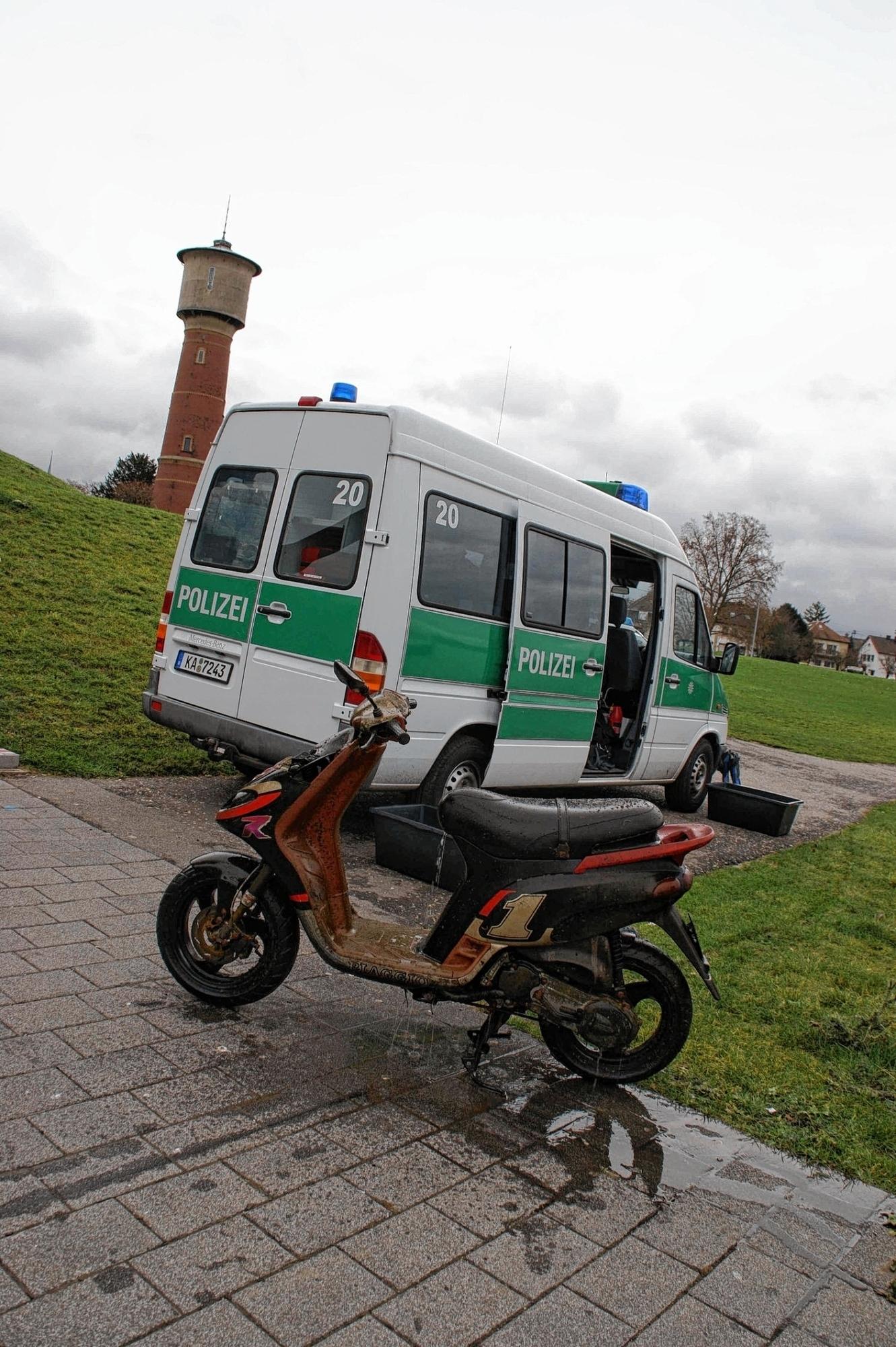 Roller Diebe Im Visier Der Polizei   Mannheim Stadt .