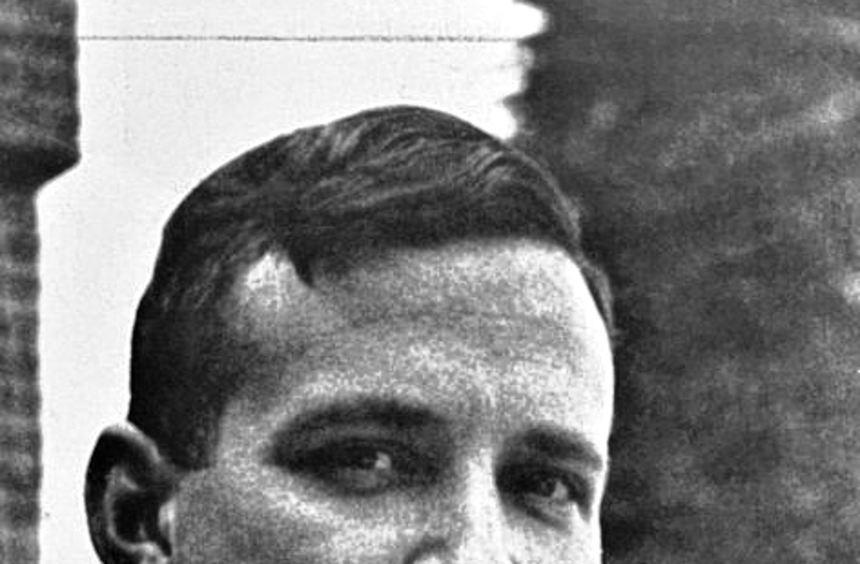 Der Schriftsteller und Zeichner Felix Hartlaub im Jahr 1939.