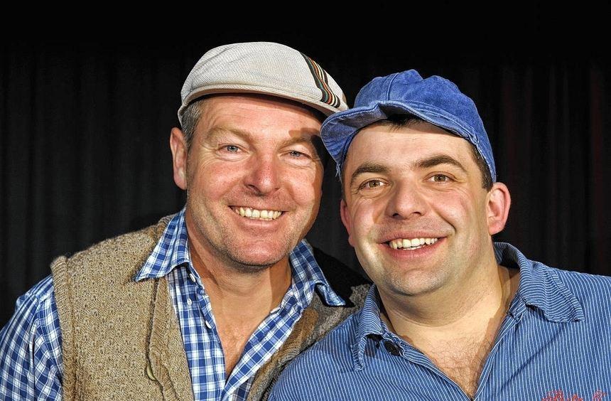 """""""Mir lossen's schwinge"""": Das Mundart-Duo Spitz & Stumpf präsentiert am Sonntag, 7. Juli, zum ..."""