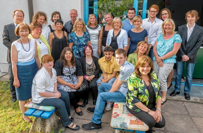 Zeugnisübergabe: Die Absolventen der Seebergschule feierten gemeinsam mit Lehrern, Betreuern und ...