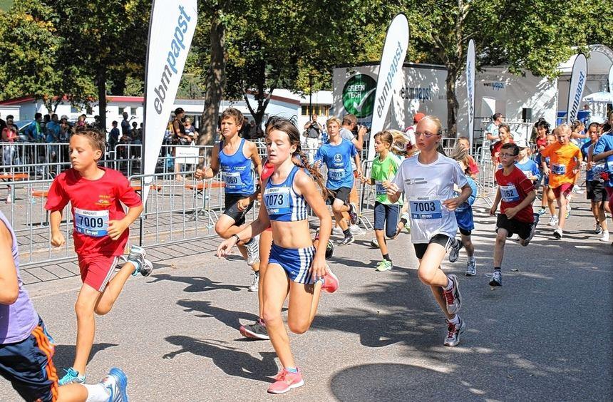 Immer mehr Kinder nahmen in den vergangenen Jahren an Läufen des ebm-Marathons teil. Mittlerweile ...