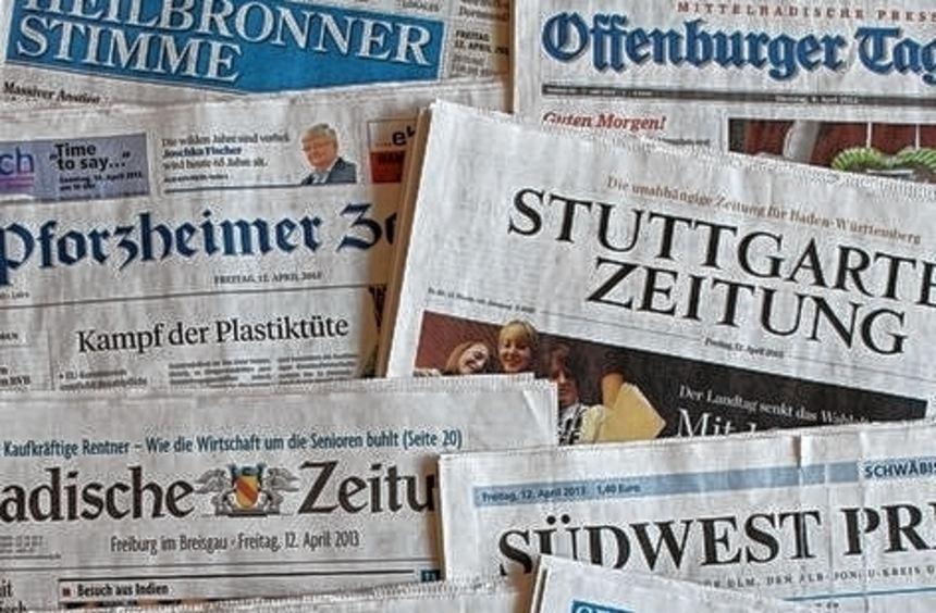 41 Millionen Menschen lesen laut Analyse täglich Zeitung in Deutschland.