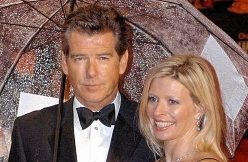 Pierce Brosnan im Jahr 2006 mit Tochter Charlotte.