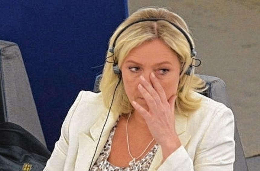 Marine Le Pen muss jetzt mit einem Prozess rechnen.