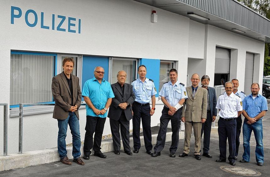 Der neue Polizeiposten in Walldürn wurde am Dienstag offiziell eingeweiht. Alle Redner lobten die ...