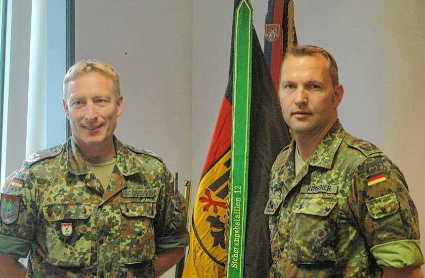 Führungswechsel: Ab Montag übernimmt Oberstleutnant Heiko Wömpener das Kommando des ...
