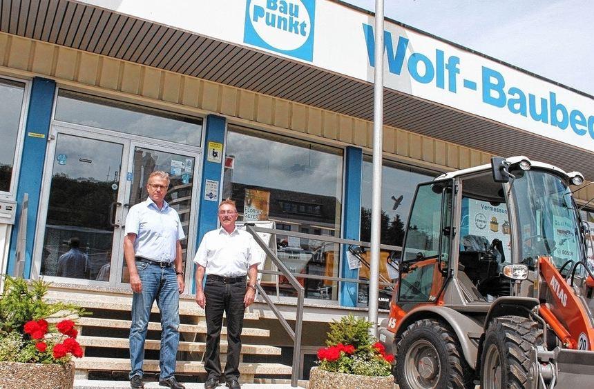 Der bisherige Inhaber der Wolf Baumaschinen und Baugeräte Handels GmbH mit Hauptsitz in Bad ...