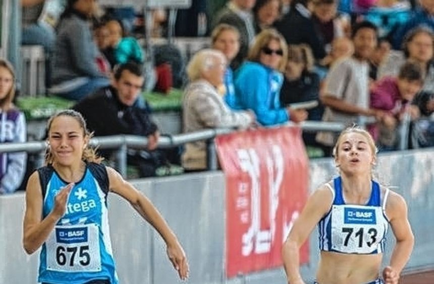 Die Leichtathletik-Talente holten alles aus sicher heraus.