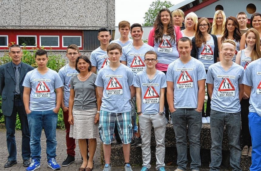 An der Karl-Trunzer-Werkrealschule haben 20 Schüler die Mittlere Reife in der Tasche. Das Bild ...