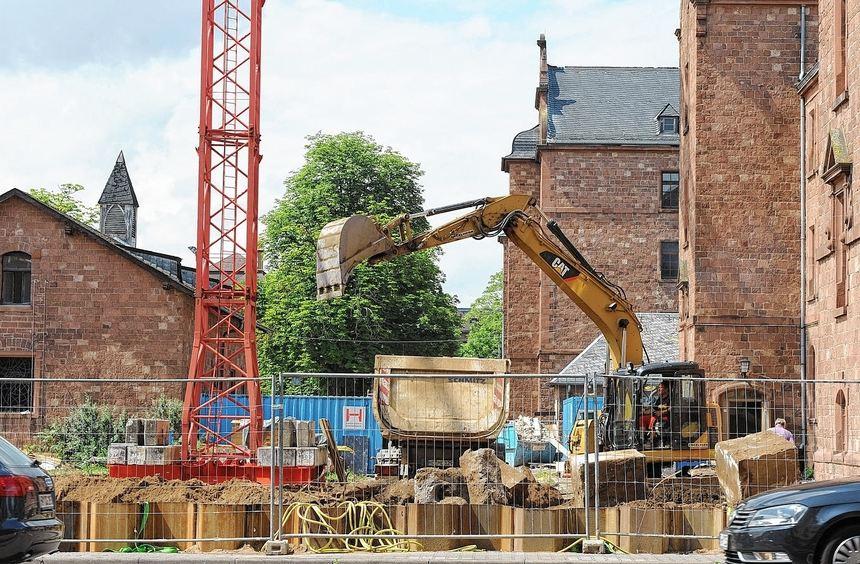 Auf dem Areal der Mannheimer Turley-Kaserne wird bereits kräftig gebaut.