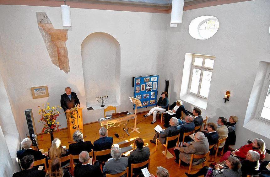 Das Vortragsprogramm in der Synagoge in Auerbach geht weiter.