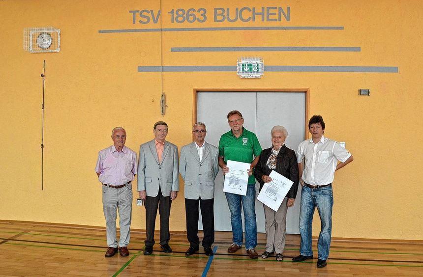 Den Zuschussantrag für die Dachsanierung hat der TSV Buchen bereits im vergangenen Jahr gestellt. ...