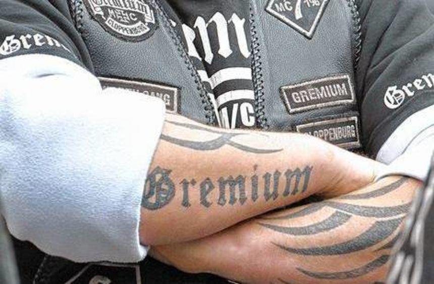 Im Visier von Polizei und Staatsanwalt: der Rockerclub MC Gremium.