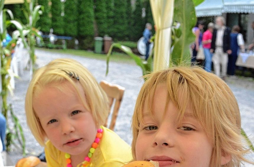 Auch für die Kinder gab es zahlreiche Angebote beim Sommerfest der Wohnstätte Buchenhof in ...