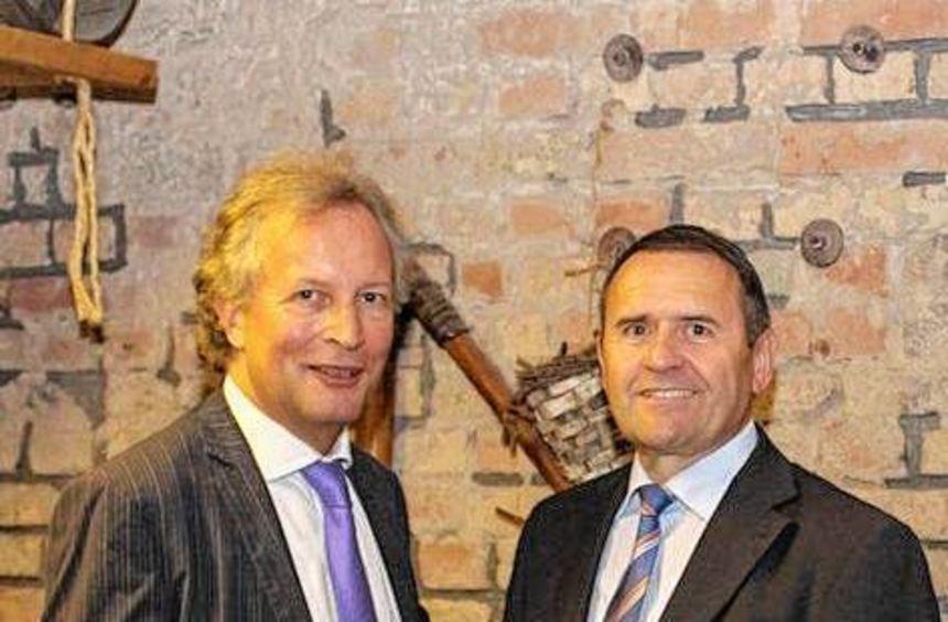 Die Spitzenkandidaten: Volker Gallandi (li.) und Walter Öhlenschläger.