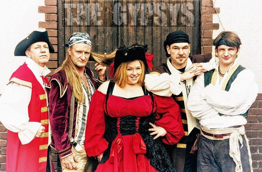"""Die Band """"The Gypsys"""" spielt am Samstag, 7. Juni, beim Wertheimer Musik-Festival """"Live im Pavillon"""" ..."""