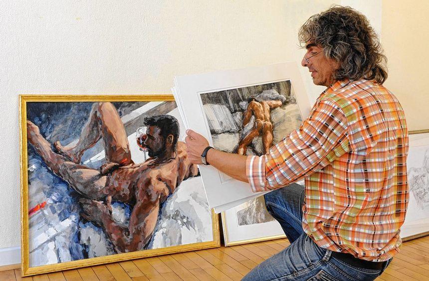 """Die Galerie Kulturraum präsentiert ab dem morgigen Sonntag die Ausstellung """"Nackte Tatsachen"""" mit ..."""