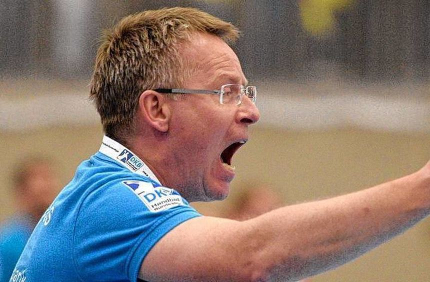 Trainer Gudmundur Gudmundsson gibt die Richtung vor.