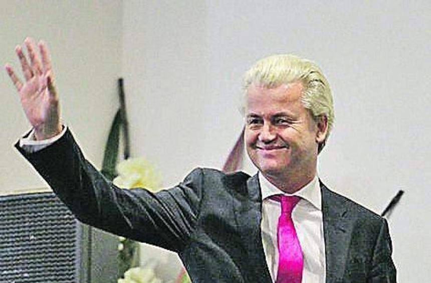 Geert Wilders hat bei der Europawahl im Mai 2014 große Ziele.
