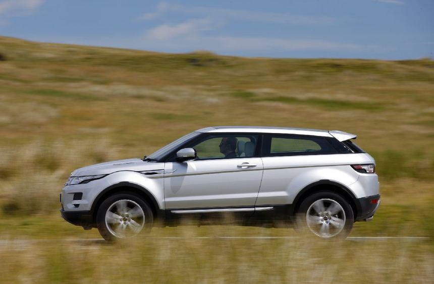 Der Land Rover Evoque kostet ab 33.100 Euro