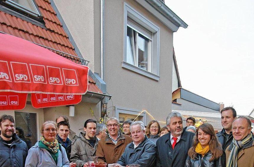 Tradition seit 2007: Der Neujahrsempfang der SPD Edingen-Neckarhausen, der in diesem Jahr ganz im ...