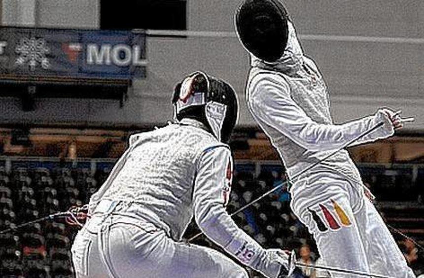 Johann Gustinelli (rechts) gewann erneut in Heidenheim.