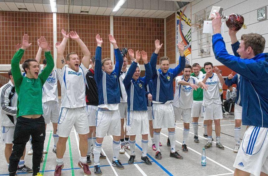 Der TSV Reichenbach bezwang im Endspiel des 28. Jakob-Röder-Gedächtnis-Turniers den Lokalrivalen ...