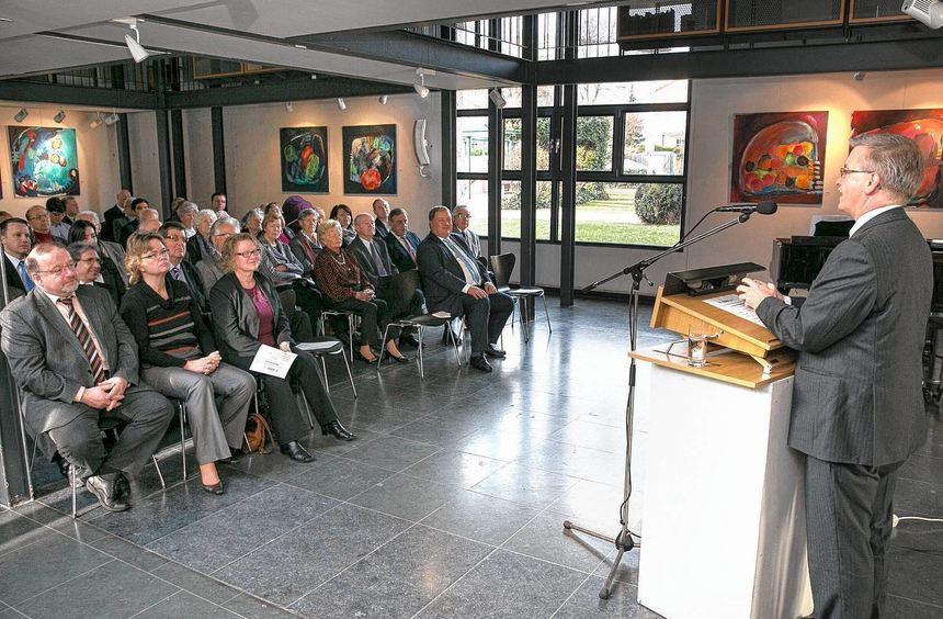 Christdemokrat Michael Gahler würdigt in der Kulturscheune die Verdienste der deutsch-französischen ...