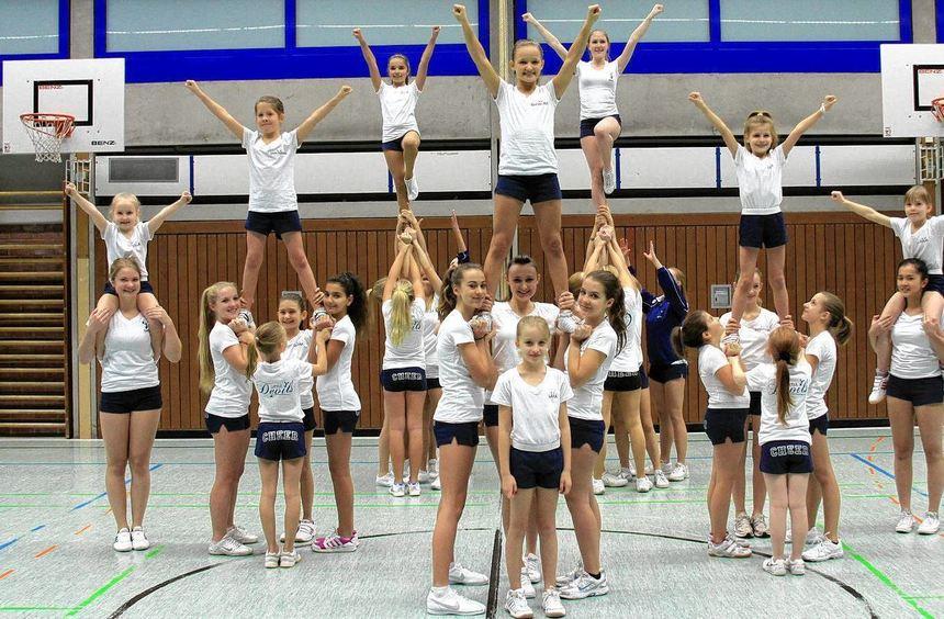 Zur starken Truppe angewachsen: Aktuell zählt die neue Abteilung 34 aktive Sportlerinnen in drei ...