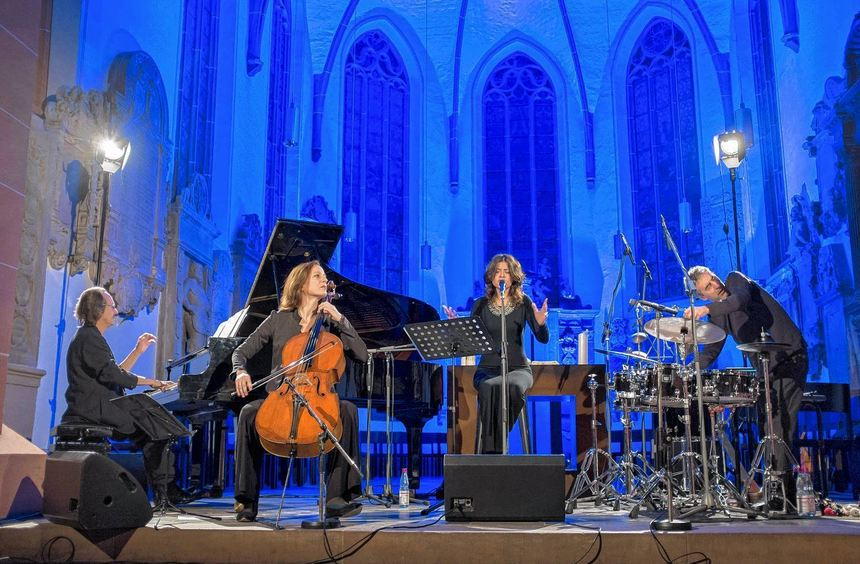 Enjoy Jazz und kein Ende: François Couturier, Anja Lechner, Maria Pia De Vito und Michele Rabbia ...