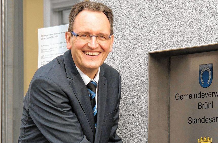 Amtsinhaber Dr. Ralf Göck hat sich als erster für die Wahl beworben.