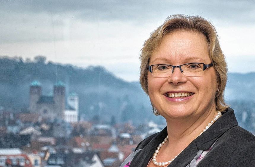 Sylvia Kloetzel will Bürgermeisterin in Bensheim werden.