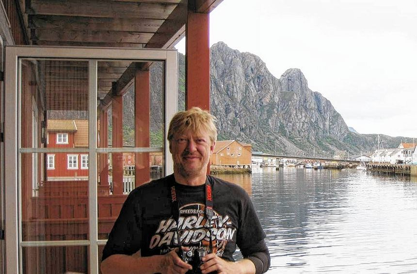 Auf dem Weg in den Norden Europas: Paddy Schmidt hat sich einen Traum erfüllt und reiste mit Kumpel ...