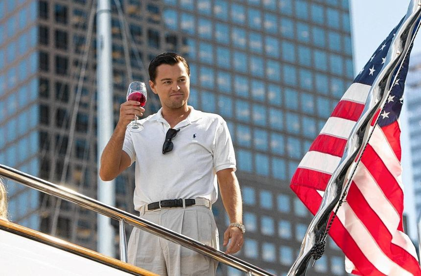Mit ihrer Gier pervertieren er und seinesgleichen den amerikanischen Traum: Leonardo DiCaprio als ...