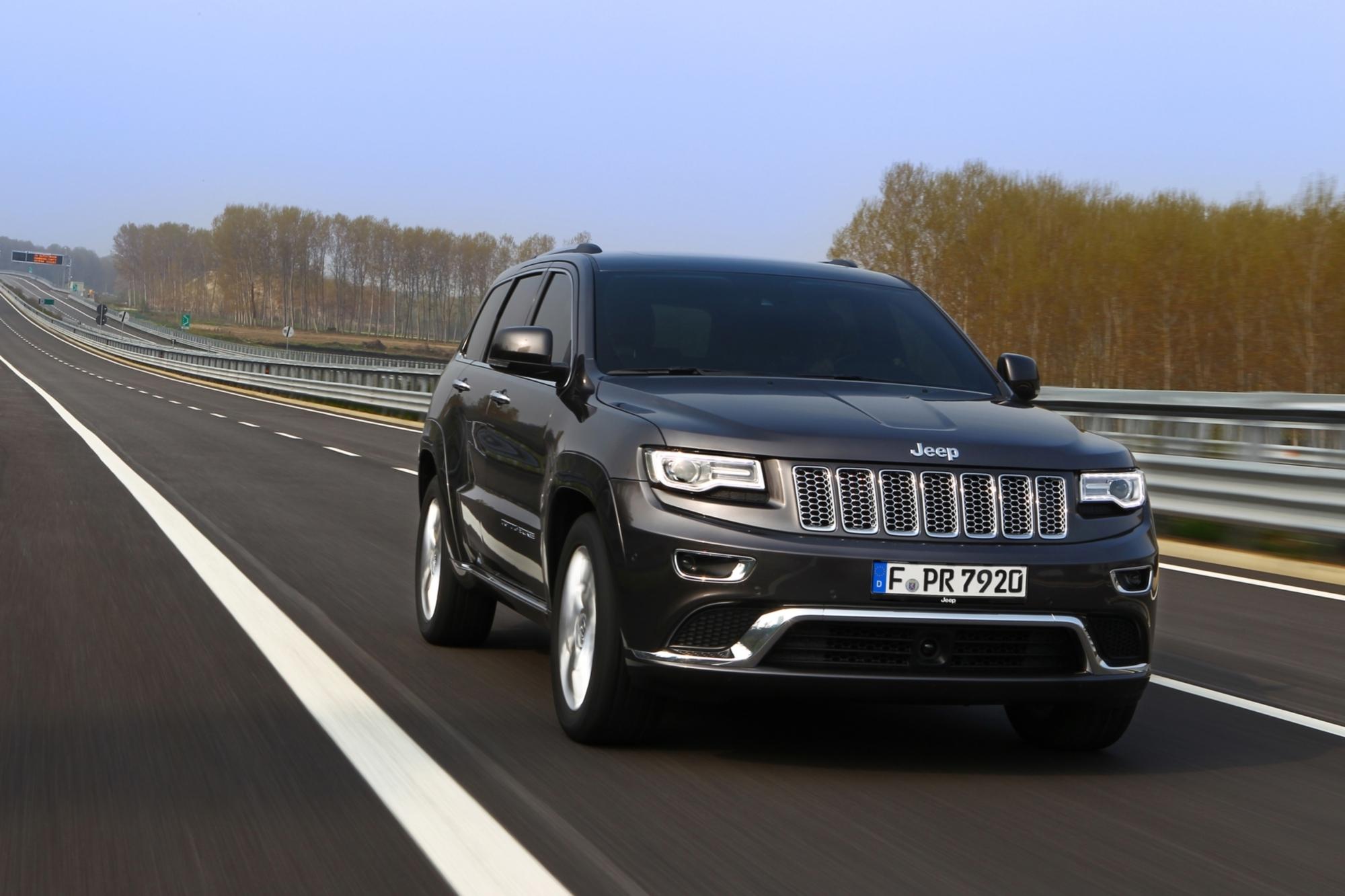Fahrbericht: Jeep Grand Cherokee - Acht statt fünf