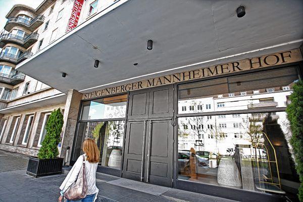 Hotel Steigenberger Mannheimer Hof Augustaanlage
