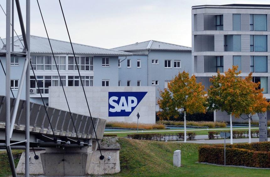SAP Konzernzentrale in Walldorf, Dietmar-Hopp-Allee © Manfred Rinderspacher