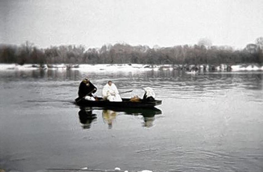 Donaubild aus der Ausstellung.