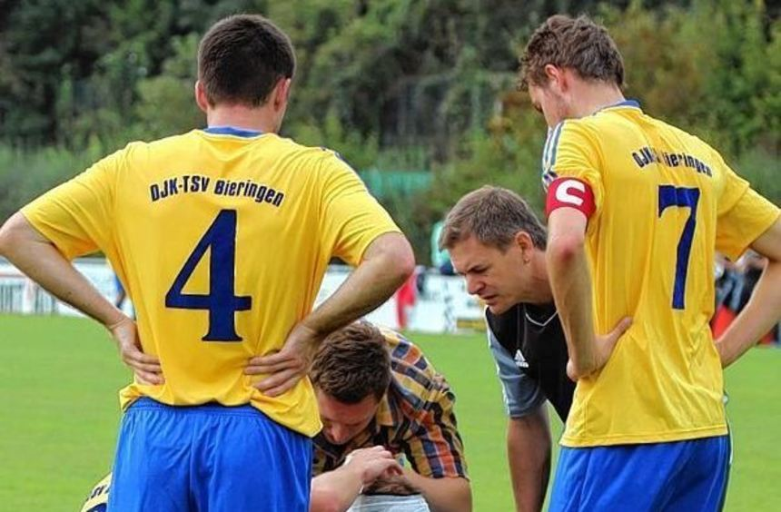 Der abgelöste Spitzenreiter DJK-TSV Bieringen hat ein hammerhartes Programm: Jagtstalderby gegen ...