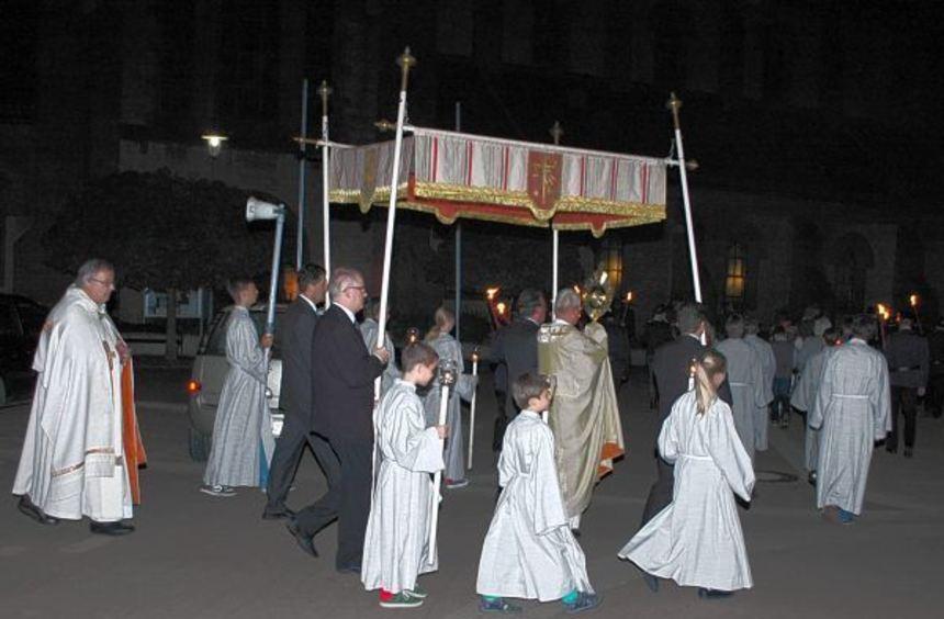 Gleich mehrere kirchliche Ereignisse wurden am Sonntag in Hardheim gefeiert: Erntedank mit einem ...